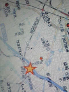 地図と時間訂正m(_ _)m