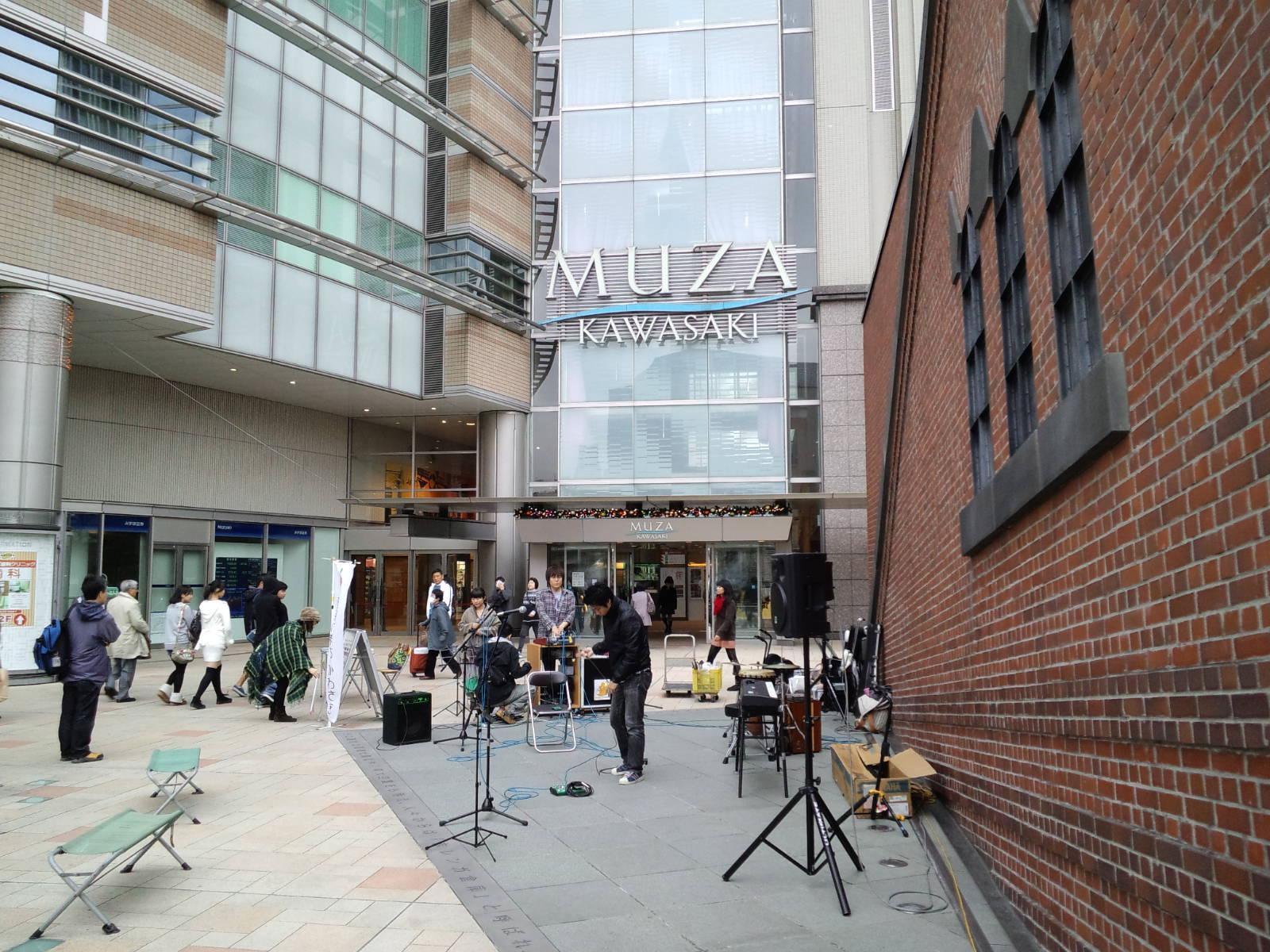 川崎ミューザゲートプラザ順番とスタジオ