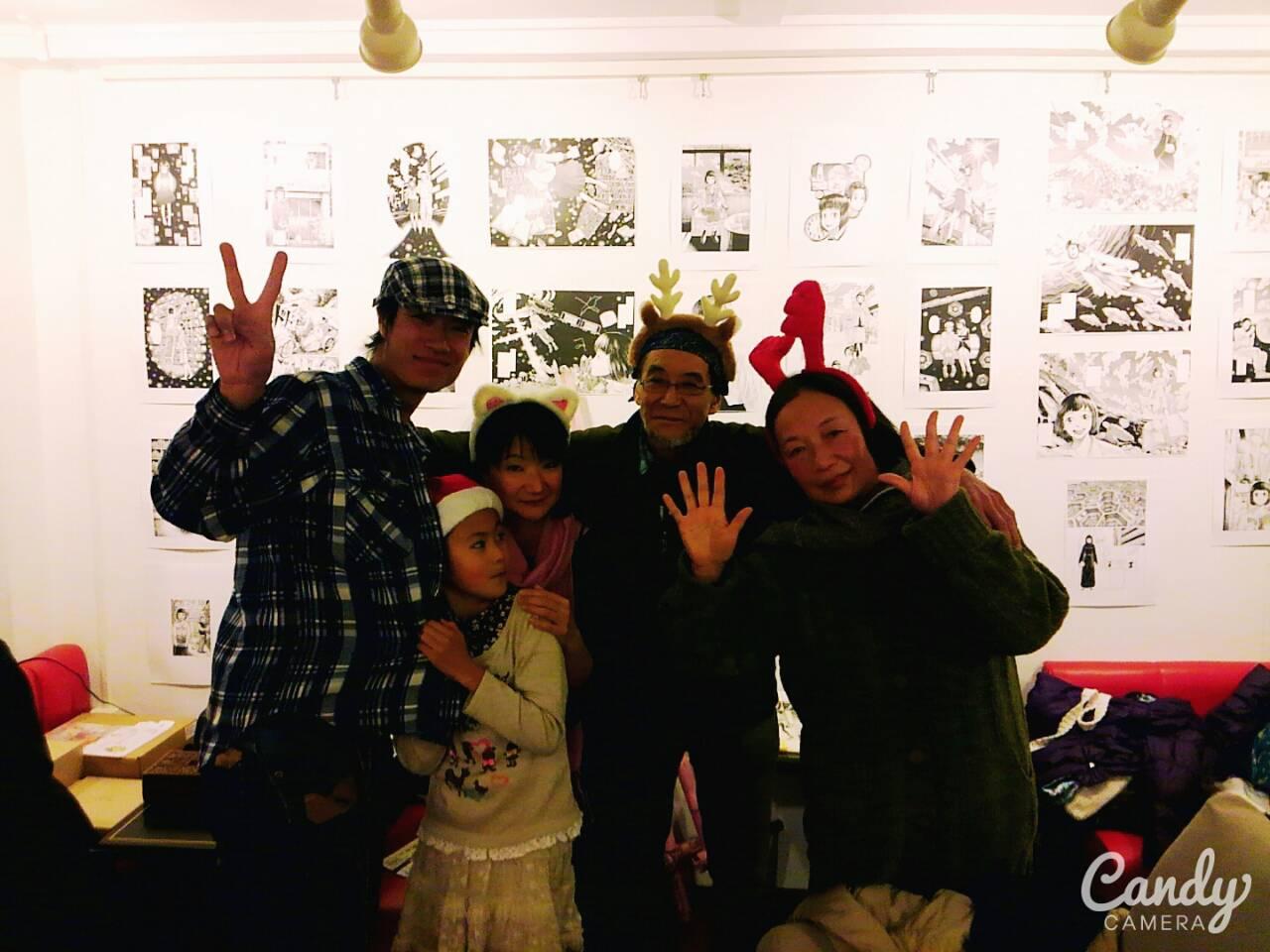 メリークリスマス&21日の画廊ライブ記