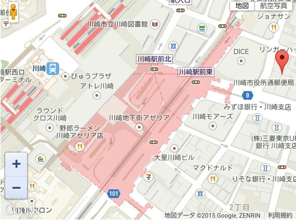 明日は川崎銀座街ライブ