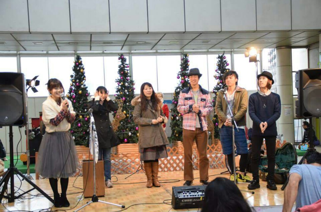20151123町田イルミネーション点灯式ライブ
