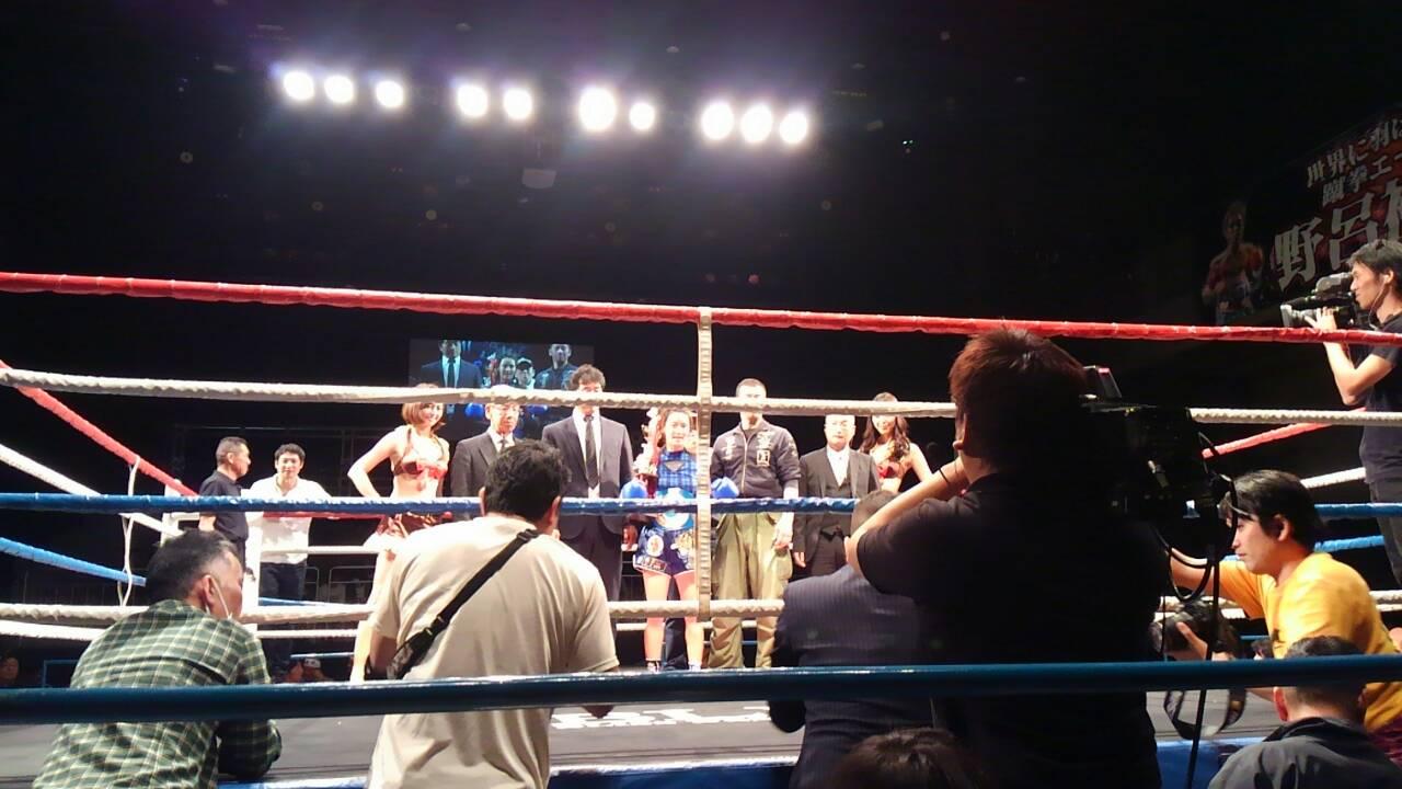 20161219新格闘技MAT会場観戦
